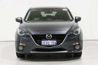 2015 Mazda 3 BM MY15 SP25 GT Safety Grey 6 Speed Automatic Hatchback.