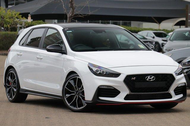 New Hyundai i30 PDe.3 MY20 N Performance Aspley, 2020 Hyundai i30 PDe.3 MY20 N Performance Polar White 6 Speed Manual Hatchback