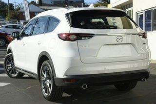 2021 Mazda CX-8 KG2W2A Asaki SKYACTIV-Drive FWD Snowflake White Pearl 6 Speed Sports Automatic Wagon.