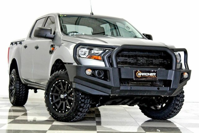 Used Ford Ranger PX MkII MY17 XL 3.2 (4x4), 2016 Ford Ranger PX MkII MY17 XL 3.2 (4x4) Grey 6 Speed Automatic Crew Cab Utility