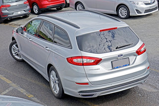 2017 Ford Mondeo MD 2018.25MY Ambiente Silver 6 Speed Sports Automatic Dual Clutch Wagon.