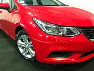 2017 Holden Astra BL MY17 LS+ Red 6 Speed Sports Automatic Sedan.