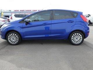 2011 Ford Fiesta WT LX PwrShift Blue 6 Speed Sports Automatic Dual Clutch Hatchback