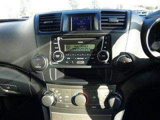 2013 Toyota Kluger GSU45R MY12 KX-R AWD Blue 5 Speed Sports Automatic Wagon