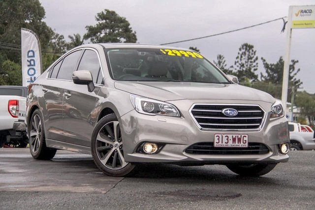 Used Subaru Liberty B6 MY16 2.5i CVT AWD Premium, 2016 Subaru Liberty B6 MY16 2.5i CVT AWD Premium Gold 6 Speed Constant Variable Sedan