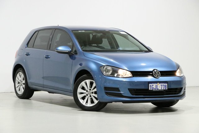 Used Volkswagen Golf AU MY16 92 TSI Comfortline, 2015 Volkswagen Golf AU MY16 92 TSI Comfortline Blue 7 Speed Auto Direct Shift Hatchback