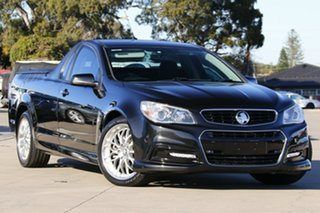 2014 Holden Ute VF MY15 SS Black 6 Speed Automatic Utility.