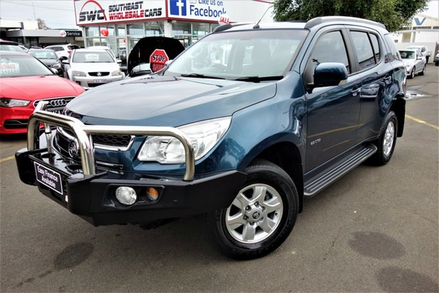Used Holden Colorado 7 RG MY14 LT, 2014 Holden Colorado 7 RG MY14 LT Blue 6 Speed Sports Automatic Wagon