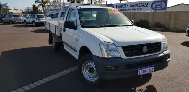 Used Holden Rodeo RA MY06 LX 4x2, 2006 Holden Rodeo RA MY06 LX 4x2 White 5 Speed Manual Cab Chassis