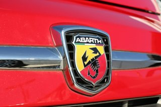 2014 Abarth 595 Series 3 Turismo Dualogic Tri Red Pearl 5 Speed Sports Automatic Single Clutch