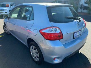 2010 Toyota Corolla ZRE152R MY10 Ascent Sport Light Blue 6 Speed Manual Hatchback.