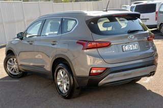 2018 Hyundai Santa Fe TM MY19 Active Grey 8 Speed Sports Automatic Wagon.