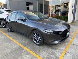 2020 Mazda 3 BP2H7A G20 SKYACTIV-Drive Evolve Machine Grey 6 Speed Sports Automatic Hatchback.
