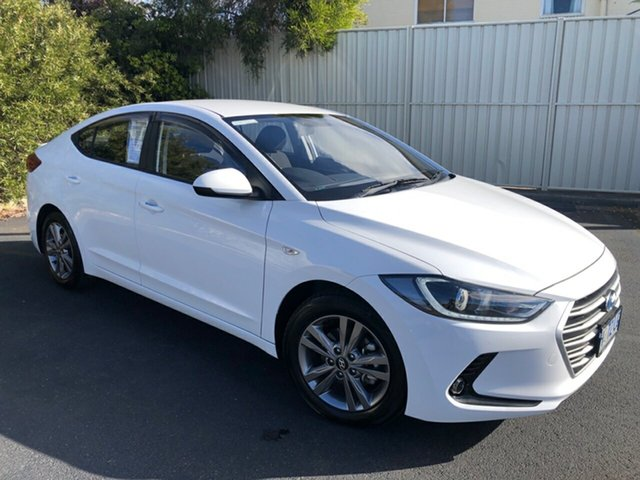 Used Hyundai Elantra AD MY18 Active, 2018 Hyundai Elantra AD MY18 Active Polar White 6 Speed Sports Automatic Sedan