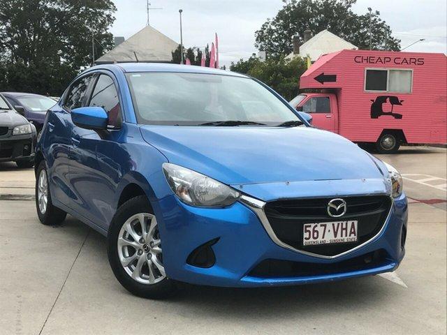 Used Mazda 2 DJ2HA6 Maxx SKYACTIV-MT, 2014 Mazda 2 DJ2HA6 Maxx SKYACTIV-MT Blue 6 Speed Manual Hatchback