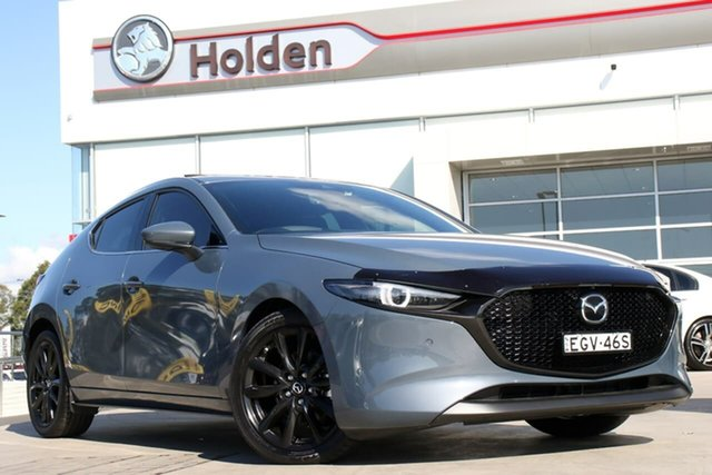 Used Mazda 3 BP2HLA G25 SKYACTIV-Drive Astina, 2019 Mazda 3 BP2HLA G25 SKYACTIV-Drive Astina Polymetal Grey 6 Speed Sports Automatic Hatchback