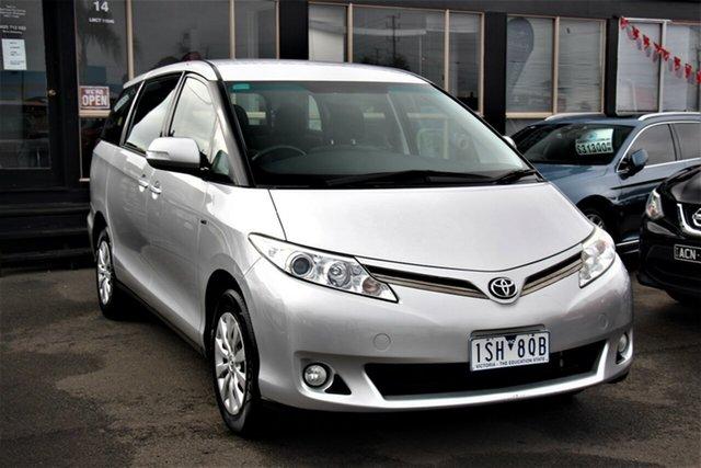 Used Toyota Tarago ACR50R MY09 GLi, 2011 Toyota Tarago ACR50R MY09 GLi Silver 4 Speed Sports Automatic Wagon