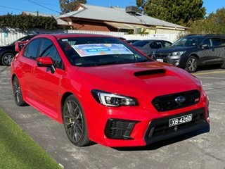 2020 Subaru WRX V1 MY20 STI AWD Premium Pure Red 6 Speed Manual Sedan.