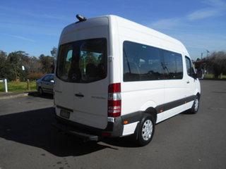 2014 Mercedes-Benz Sprinter 906 MY14 Transfer White 7 Speed Automatic Bus