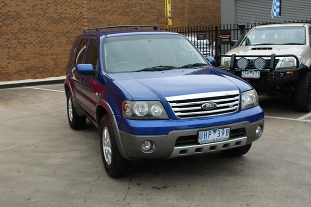 Used Ford Escape ZC XLT Sport V6 Hoppers Crossing, 2006 Ford Escape ZC XLT Sport V6 Blue 4 Speed Automatic SUV