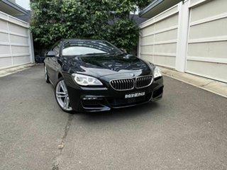 2015 BMW 6 Series F13 LCI 640i Steptronic Black 8 Speed Sports Automatic Coupe.