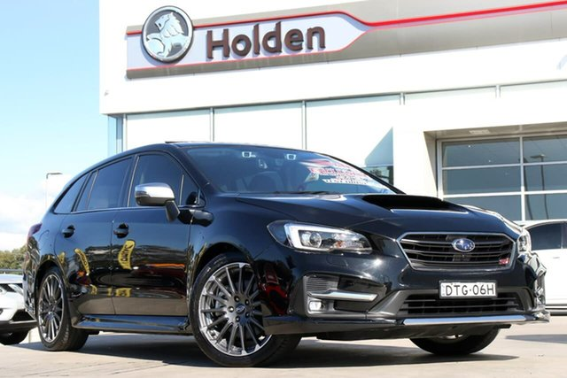 Used Subaru Levorg V1 MY18 2.0 STI Sport CVT AWD, 2017 Subaru Levorg V1 MY18 2.0 STI Sport CVT AWD Black 8 Speed Constant Variable Wagon