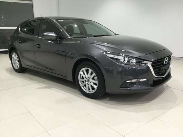Used Mazda 3 BN5478 Touring SKYACTIV-Drive, 2017 Mazda 3 BN5478 Touring SKYACTIV-Drive Grey 6 Speed Sports Automatic Hatchback