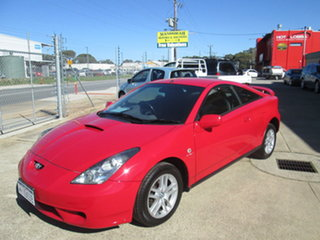 2000 Toyota Celica ZZT231R SX Red 4 Speed Automatic Hatchback.