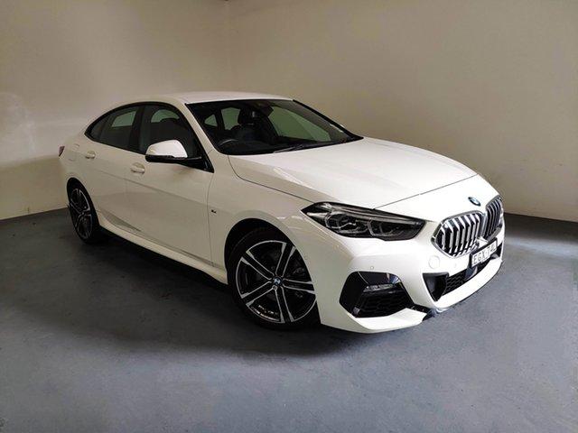 Demo BMW 218i F44 M Sport Gran Coupe D-CT, 2019 BMW 218i F44 M Sport Gran Coupe D-CT Alpine White 7 Speed Sports Automatic Dual Clutch Sedan