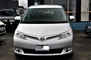 2011 Toyota Tarago ACR50R MY09 GLi Silver 4 Speed Sports Automatic Wagon.