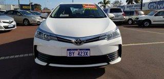 2018 Toyota Corolla ZRE172R Ascent S-CVT White 7 Speed Constant Variable Sedan.