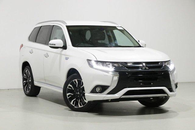 Used Mitsubishi Outlander ZJ MY14 PHEV, 2017 Mitsubishi Outlander ZJ MY14 PHEV White 1 Speed Automatic Wagon