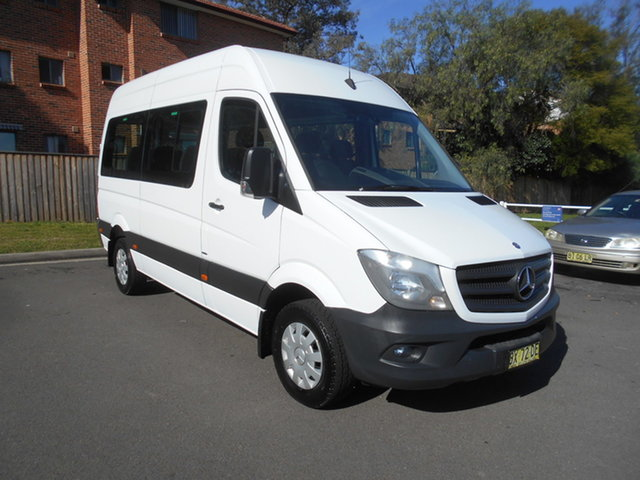 Used Mercedes-Benz Sprinter 906 MY14 Transfer, 2014 Mercedes-Benz Sprinter 906 MY14 Transfer White 7 Speed Automatic Bus