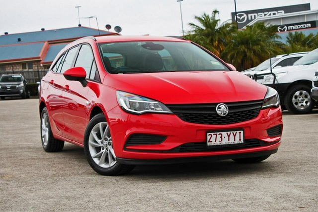 Used Holden Astra BK MY18 LS+ Sportwagon, 2018 Holden Astra BK MY18 LS+ Sportwagon Asbolute 6 Speed Sports Automatic Wagon
