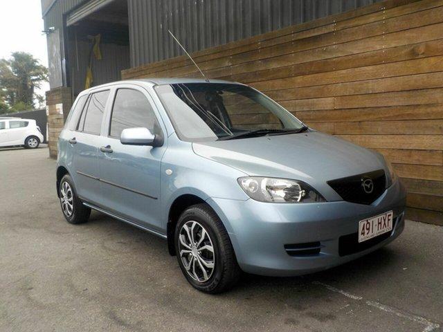 Used Mazda 2 DY10Y1 Neo, 2004 Mazda 2 DY10Y1 Neo Blue 4 Speed Automatic Hatchback