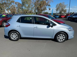 2010 Toyota Corolla ZRE152R MY10 Ascent Sport Light Blue 6 Speed Manual Hatchback