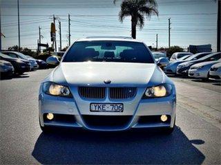 2007 BMW 325i E90 325i Silver Sports Automatic Sedan.