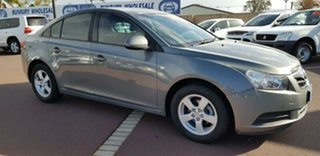 2010 Holden Cruze JG CD Grey 6 Speed Sports Automatic Sedan