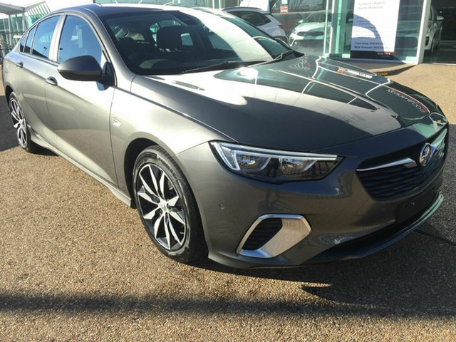Used Holden Commodore ZB MY18 RS Liftback, 2018 Holden Commodore ZB MY18 RS Liftback Grey 9 Speed Sports Automatic Liftback
