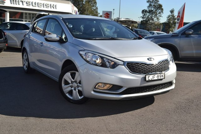 Used Kia Cerato YD MY16 S, 2016 Kia Cerato YD MY16 S Silver 6 Speed Sports Automatic Hatchback