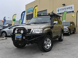 2009 Nissan Patrol GU VI ST (4x4) Gold 4 Speed Automatic Wagon