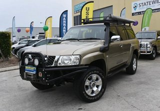 2009 Nissan Patrol GU VI ST (4x4) Gold 4 Speed Automatic Wagon.
