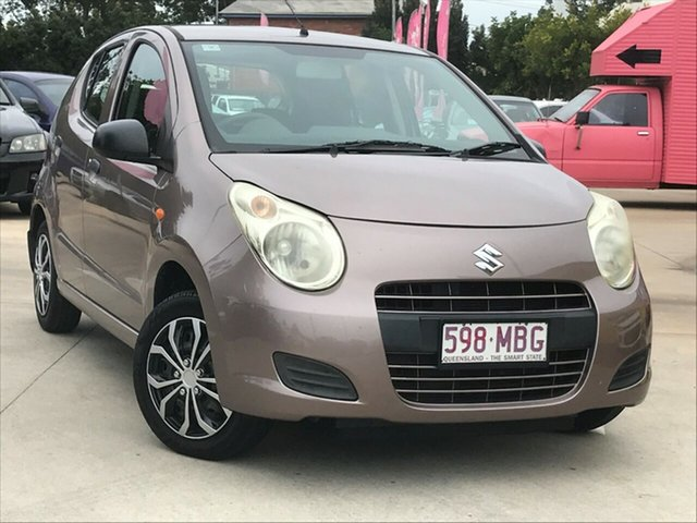 Used Suzuki Alto GF GL Toowoomba, 2010 Suzuki Alto GF GL Bronze 5 Speed Manual Hatchback