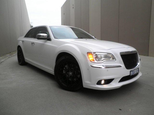 Used Chrysler 300 LX MY13 C E-Shift Luxury, 2012 Chrysler 300 LX MY13 C E-Shift Luxury White Sage 8 Speed Sports Automatic Sedan
