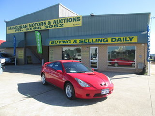 2000 Toyota Celica ZZT231R SX Red 4 Speed Automatic Hatchback