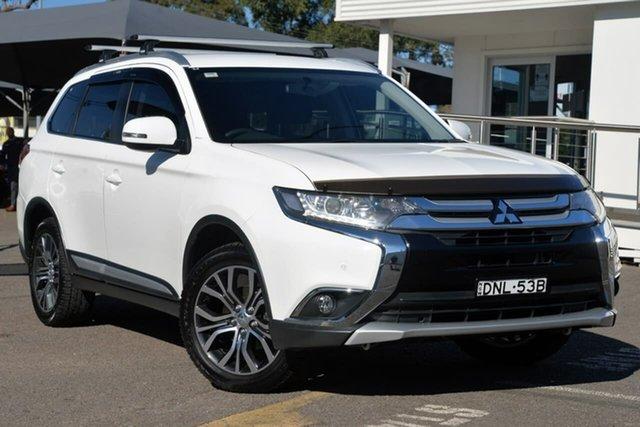 Used Mitsubishi Outlander ZK MY17 LS 4WD, 2017 Mitsubishi Outlander ZK MY17 LS 4WD White 6 Speed Constant Variable Wagon