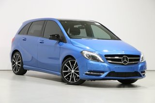 2015 Mercedes-Benz B250 246 MY15 4Matic Blue 7 Speed Auto Direct Shift Hatchback.