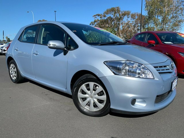 Used Toyota Corolla ZRE152R MY10 Ascent Sport Bunbury, 2010 Toyota Corolla ZRE152R MY10 Ascent Sport Light Blue 6 Speed Manual Hatchback