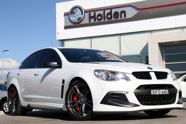 Used Holden Special Vehicles ClubSport Gen-F2 MY16 R8 LSA, 2016 Holden Special Vehicles ClubSport Gen-F2 MY16 R8 LSA White 6 Speed Manual Sedan