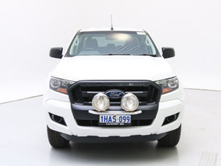 2015 Ford Ranger PX MkII XL 3.2 (4x4) White 6 Speed Manual Chassis.